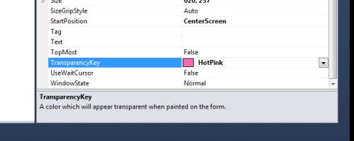 NonStandardFormBorders_TransparencyKey