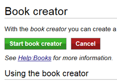 WikipediaBookCreatorEnable