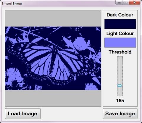C# How to: Bi-tonal Bitmaps | Software by Default