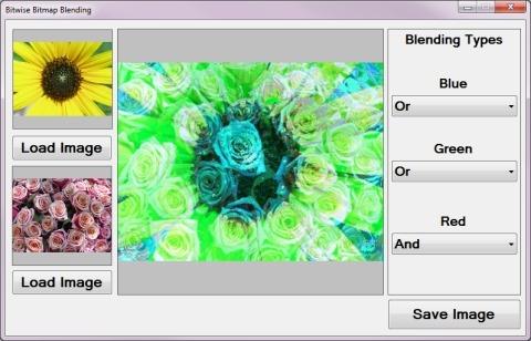 Bitwise Bitmap Blending