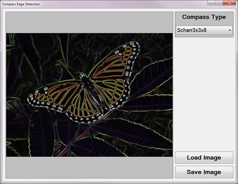 Compass Edge Detection Sample Application