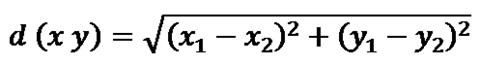 Euclidean Distance Algorithm