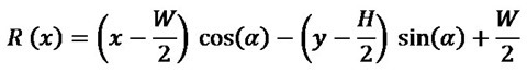 Rotate Horizontal Algorithm